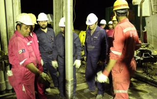 Sand control project contract in 15 wells